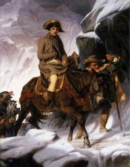 Le dieu français de la guerre Napoléon Bonaparte
