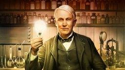 L'inventeur américain Thomas Edison