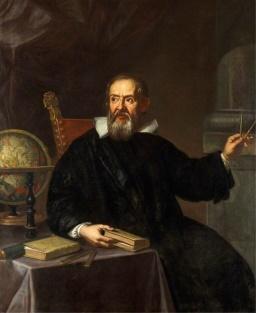 Physicien italien Galileo