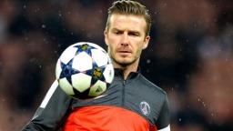 Joueur de football David Beckham photo